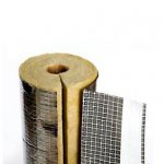 Isover - mineral wool cover U Protect Pipe Section Alu2